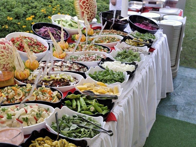 Kinh nghiệm tổ chức tiệc buffet cuối năm