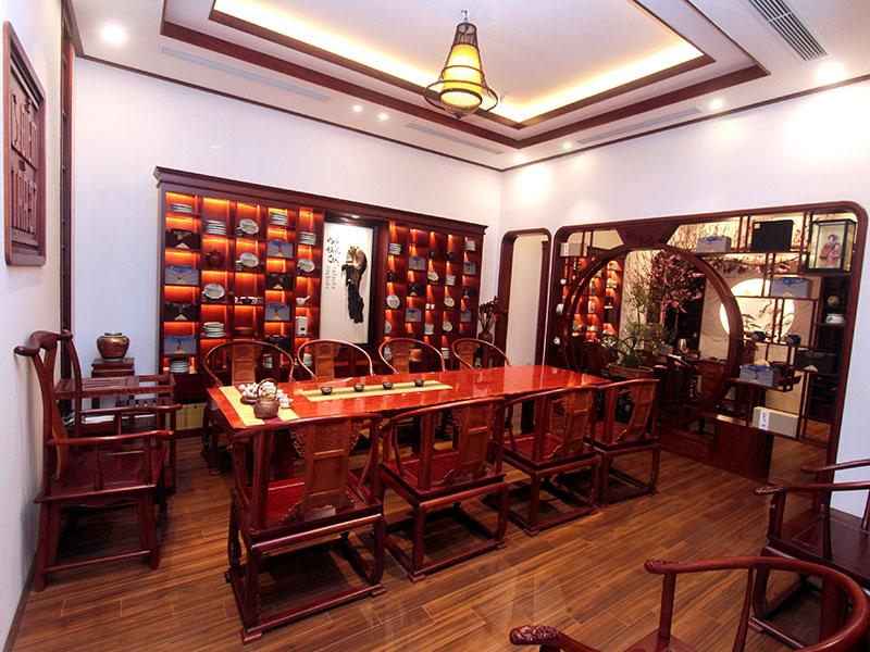 Không gian văn hóa trà Việt – Điểm trà 37 tại số 10 Chu Văn An, Điện Biên, Ba Đình, Hà Nội